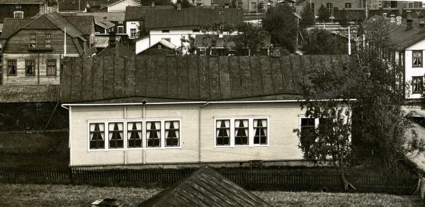 2 Koulumuseo Vuonna 1873 toimintansa aloittanut Kannuksen kirkonkylän alakansakoulu Kuva Kannuksen kotiseutuarkisto