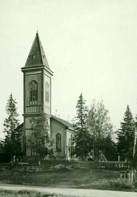 Kuva 2 Toholammin kirkko K.H.Renlundin museo - Keski-Pohjanmaan maakuntamuseo Lohtajan kotiseutumuseo