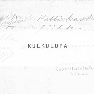 Viljami Kalliokoski kulkulupa hit