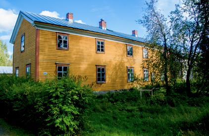 lautamiehen talo